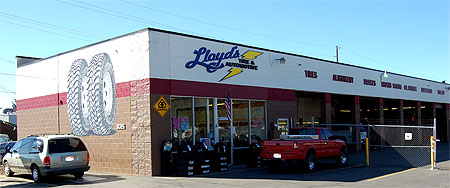 Lloyds Tire & Automotive service center in Coeur d'Alene Idaho