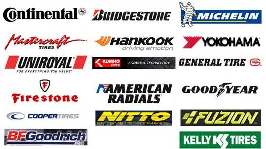 Lloyd's offers many quality brands of tires.